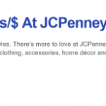 Southwest Rapid Rewards JCPenney Promotion: 5x Rapid Reward Points