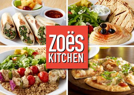 Zoes Kitchen zoes kitchen random acts of kindness week promotion: bogo entree