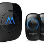 Magicfly Portable Wireless Doorbell Chime Kit + 1 Door Chime via Walmart: $19.56 + Free Shipping