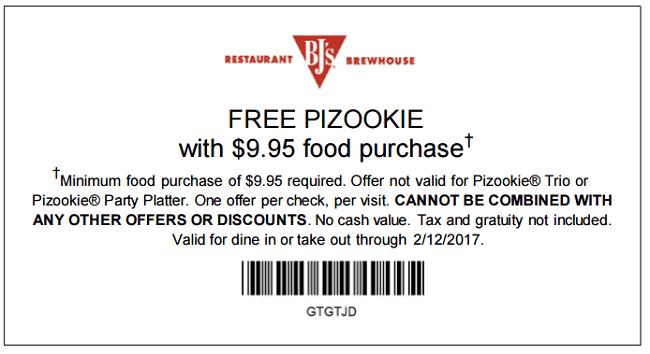 Oct 10,  · Add BJ's Restaurant and Brewhouse coupon codes to the experience and make it even more rewarding. Tuck into BJ's signature deep-dish pizza, savor a Thai chicken mango salad or choose from a large selection of craft beers: Register for BJ's Premier Rewards and earn points when you dine and when you shop BJ's online.