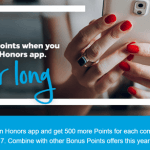 Hilton Honors App Promotion: 500 Hilton Points
