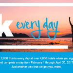 Hilton Honors Every Day Promotion: 2,000 Points Every Night