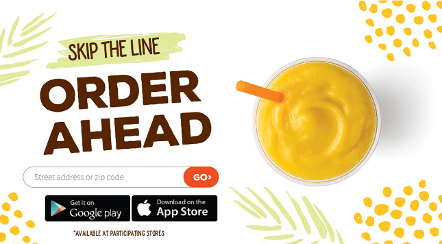Jamba Juice Application Online The Best Juice Of 2018
