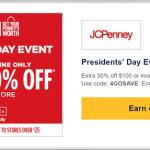 Southwest Rapid Rewards JC Penny Promotion: 4x Rapid Reward Points