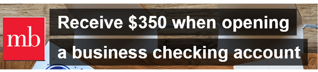 MB Financial $350 Bonus logo