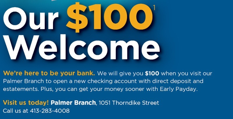 North Brookfield Savings Bank Promotion