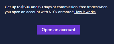 E*TRADE $600 Cash Bonus Online Brokerage Account