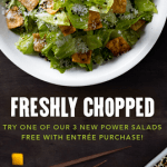 PF Chang's Free Salad Entree Promotion