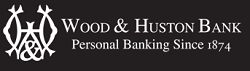 Wood & Huston Bank Logo