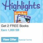Swagbucks Highlights Promotion: Make $7 + 2 Free Books