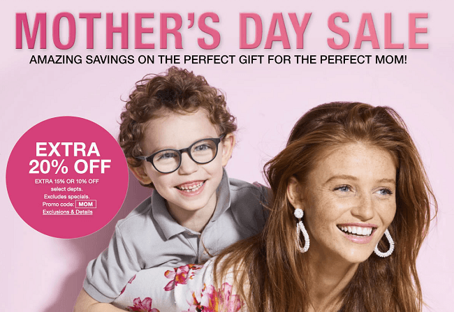 Macy S Mother S Day Coupon Promotion Up To Extra 20 Off