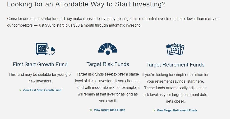 usaa mutual funds account review. Black Bedroom Furniture Sets. Home Design Ideas