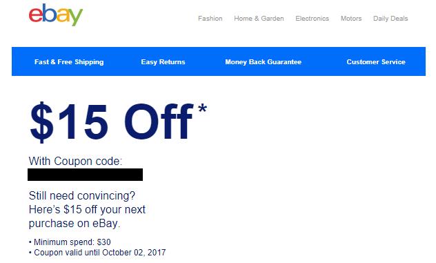 Ebay promo code 2018 November Postmates