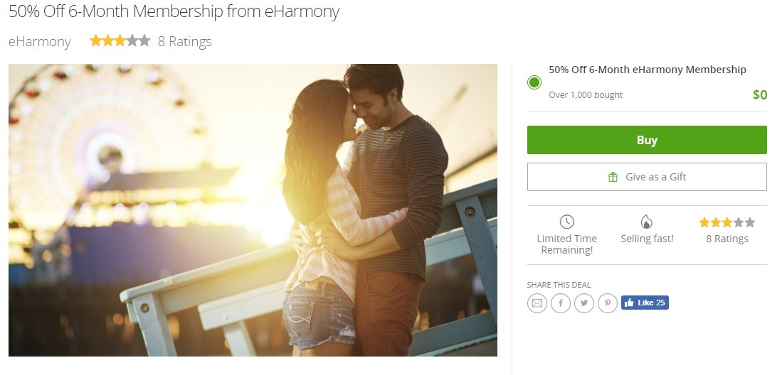 Groupon online dating deals
