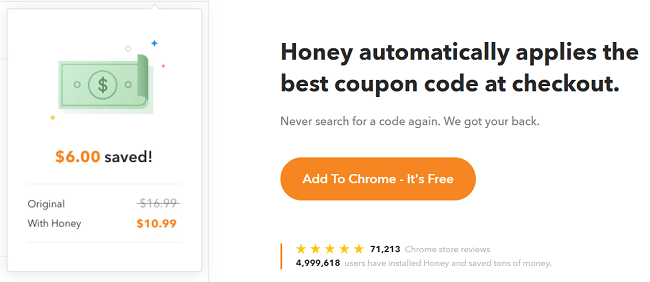 honey extension for chrome