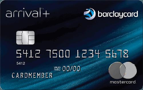 Barclaycard Arrival Plus® World Elite Mastercard® -- 60K Points