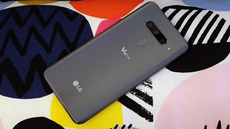 LG V40 ThinQ 64GB Smartphone (Unlocked) for $299.99