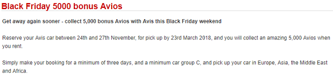 Using Avios Points For Car Rental