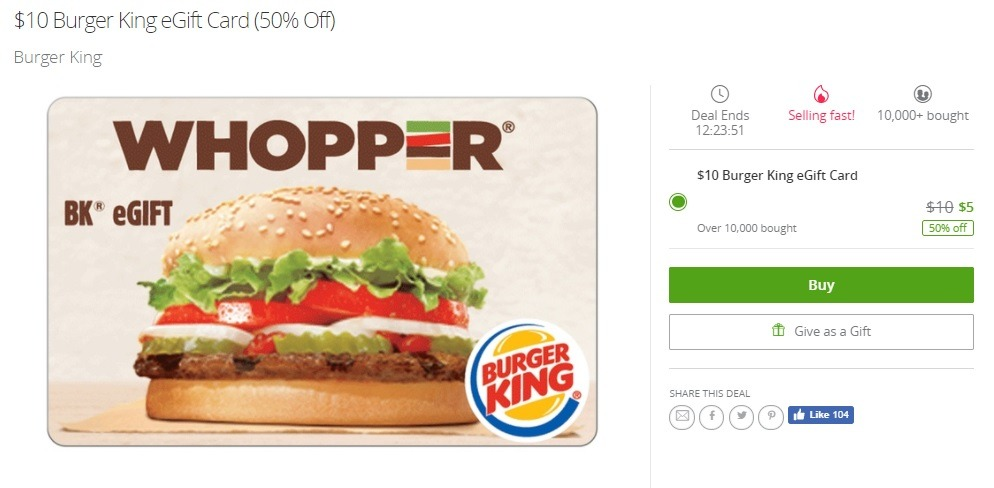 Dec 05, · Burger King wants people to download its app. So it's sending them to McDonald's for access to a one-cent Whopper. Burger King wants people to .