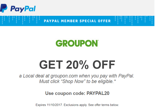 Groupon coupon code 20 off - Drugstore coupon 10 off