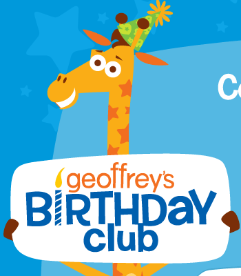 Toys R Us Geoffrey S Birthday Club Members Promotion Free Lego Build More