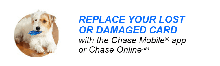 How to Replace a Chase Debit Card