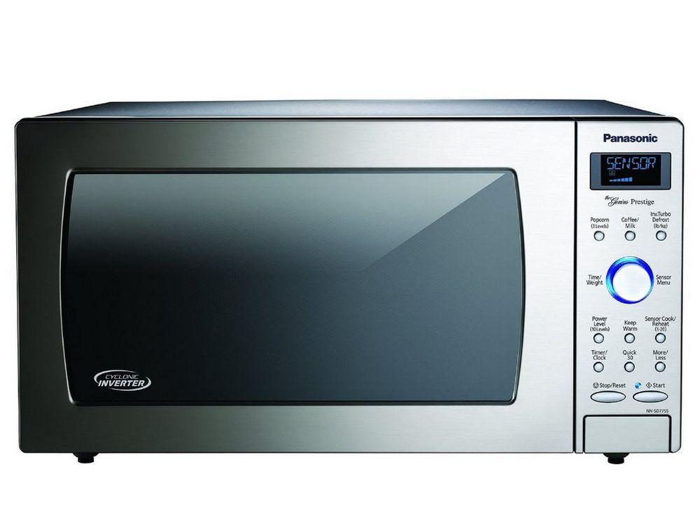Panasonic Countertop Built In Cyclonic Microwave Via