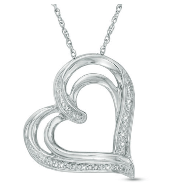 Zales Diamond Necklaces Promotion Select Diamond Accented