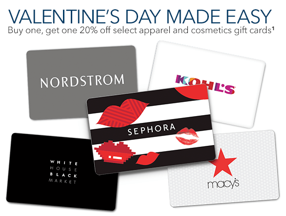 Best buy valentines gift card promotion bogo 20 off select best buy valentines gift card promotion reheart