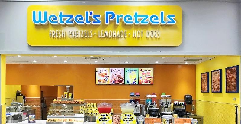 Image result for wetzel's pretzels