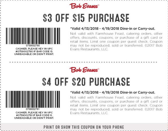 photograph about Bob Evans Printable Coupons named Bob evans discount codes upon mobile phone : Great order pre paid out telephones