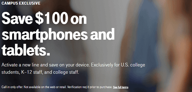 Several companies offer education discounts to give students and teachers savings on new devices or services, and that includes T-Mobile. T-Mobile is giving out coupon codes good for $48 off of a.