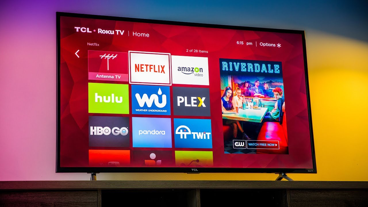 Tcl 55 Inch 4k Tv 6 Series