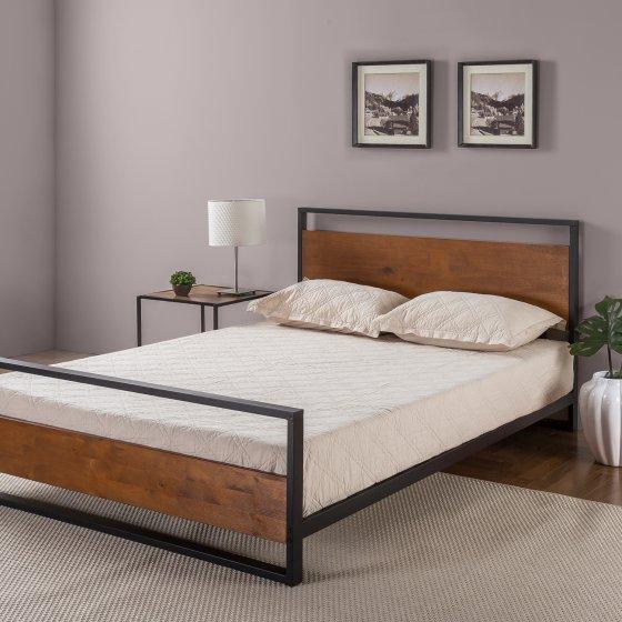 Zinus Ironline Headboard Amp Footboard Bed Frame Via Amazon