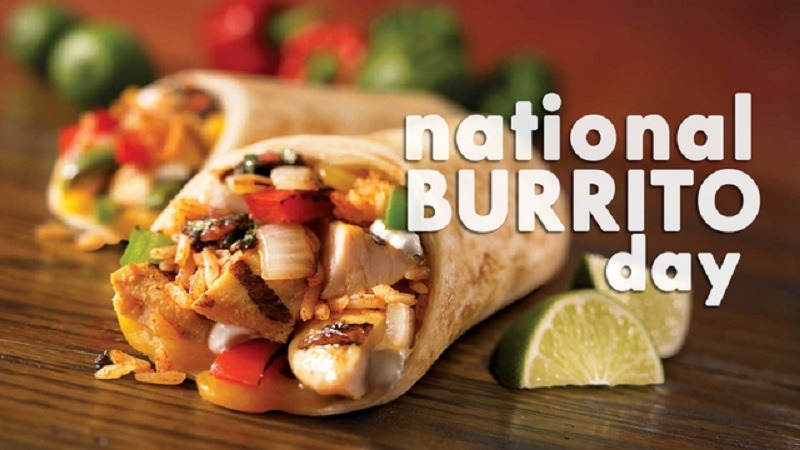 National Burrito Day Promotions