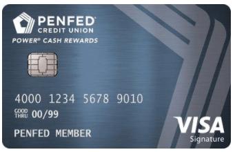 penfed power cash rewards visa card summary - Metal Visa Card
