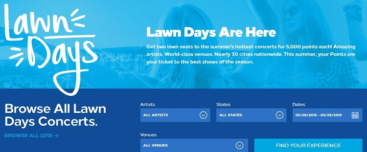 Hilton Honors Lawn Days Promotion