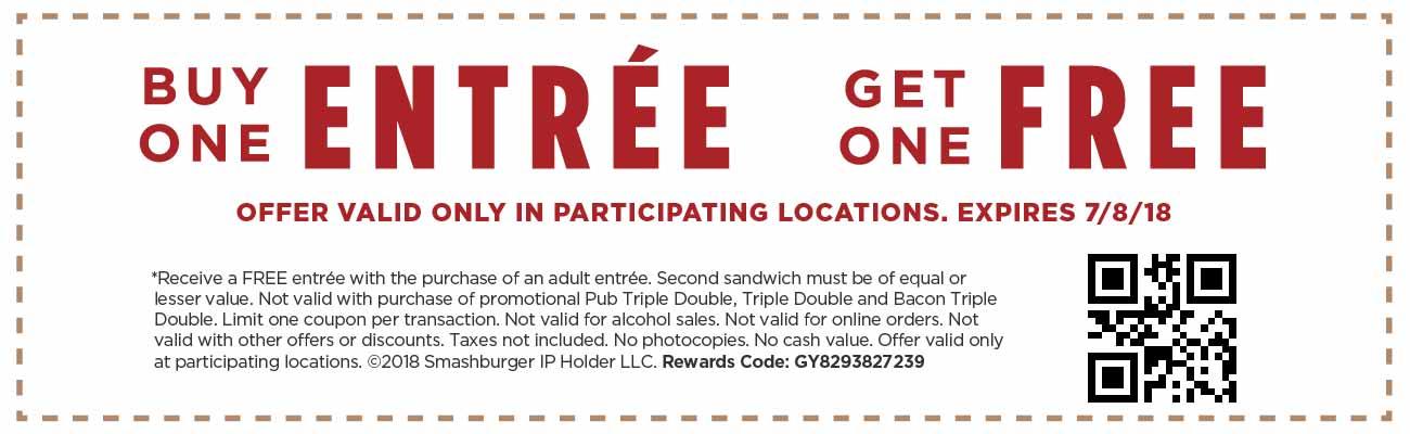 smashburger coupon code online 2019