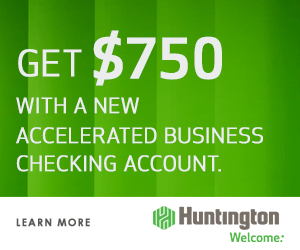 Regions bank checking promotion 200 lifegreen checking bonus al huntington accelerated business checking earn 750 bonus by opening huntingtons accelerated business checking account by september 30 2018 reheart Gallery