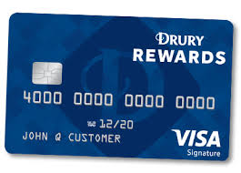 the commerce bank drury rewards visa credit card is perfect for those who stay with drury hotels often make your points counts and utilize them towards - Free Visa Credit Card