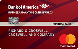 Bank of america business advantage cash rewards mastercard credit the bank of america business advantage cash rewards mastercard credit card is a nice way to earn cash back on your purchases its a good pick for business reheart Gallery