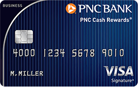Pnc cash rewards visa signature business credit card promotion 100 if you are looking for a business friendly credit card with cash back the pnc cash rewards visa signature business credit card might be perfect for you reheart Images