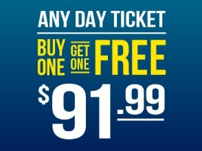 seaworld bogo free ticket promotion