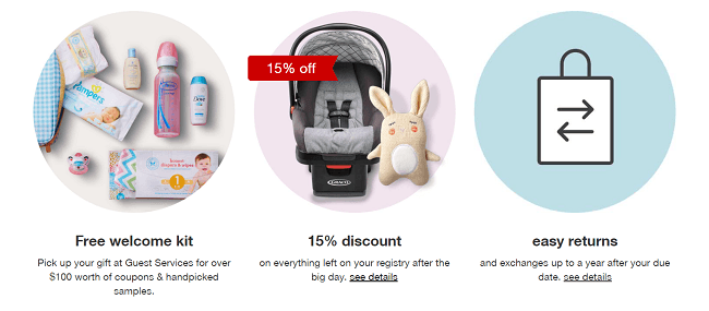 Target Baby Registry Promotion: Free Welcome Gift + 15% ...