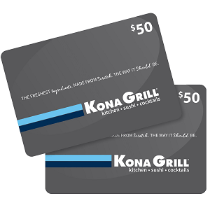 Sams club kona grill gift card promotion 100 gc for 7498 kona grill gift cards colourmoves