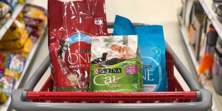 target pet care promotions