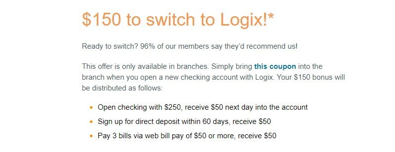 Logix Federal Credit Union Promotion