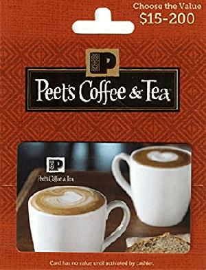 Amazon Peet's Coffee & Tea Gift Card Promotion