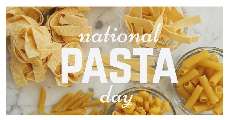 National Pasta Day Promotions