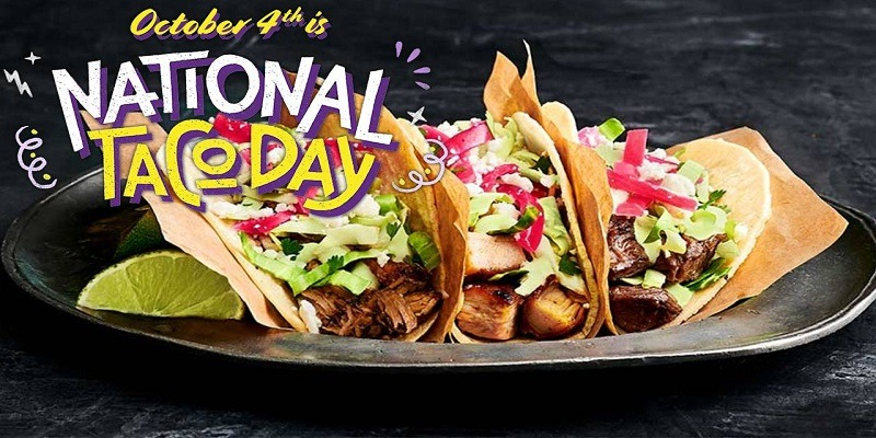 National Taco Day Promotions October 4 2020